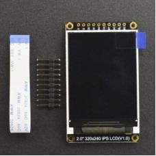 """2"""" 320x240 IPS TFT LCD Display mit MicroSD"""