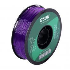 PETG Violett Transparent Filament 1.75mm 1Kg eSun