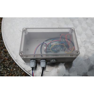 Wasserdichtes Gehäuse für IoT Thingspeak