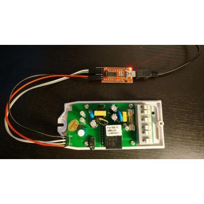 Sonoff mit Arduino programmieren
