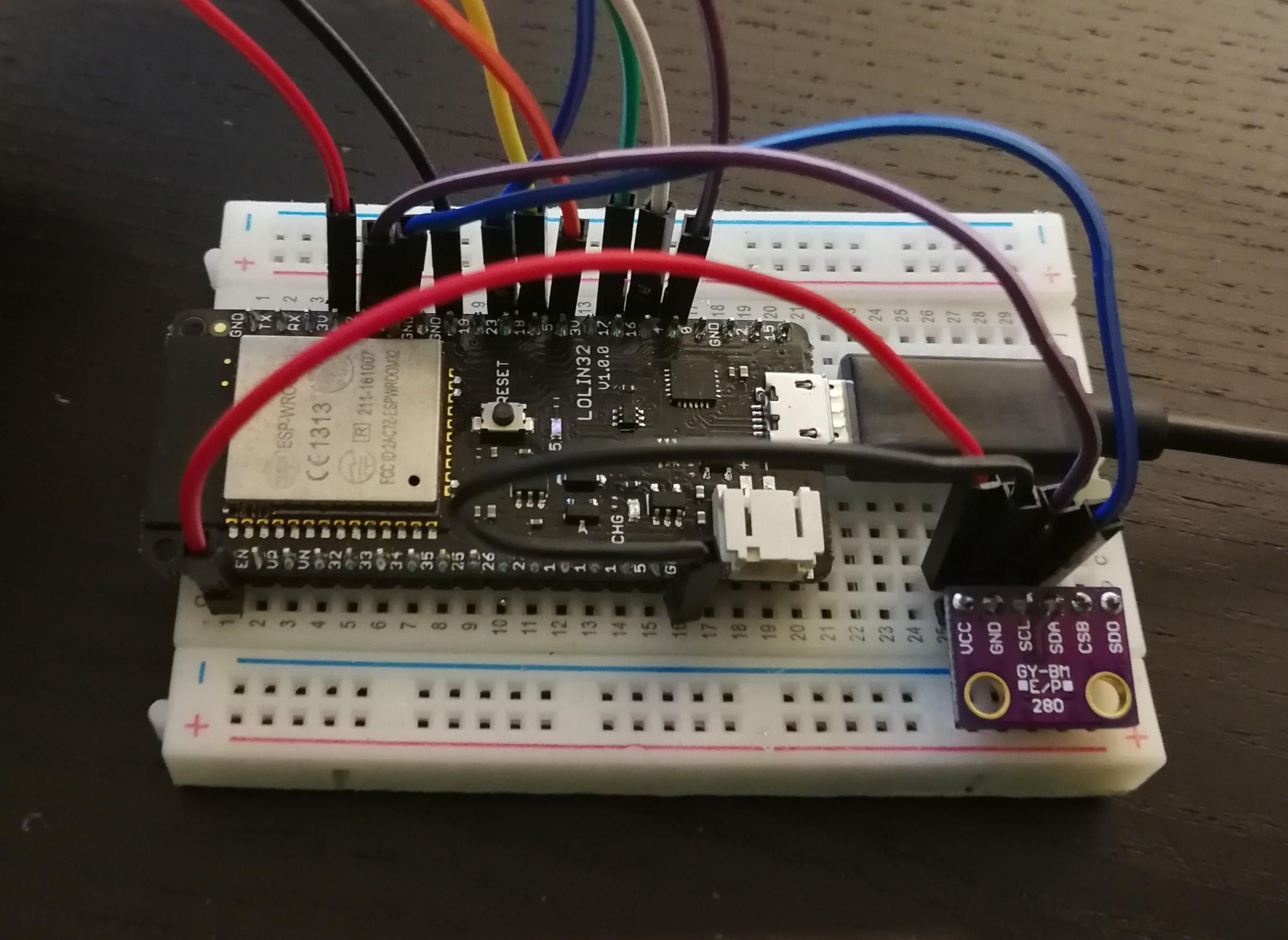 Arduino Tutorail BME280 eInk Display mit ESP32 ansteuern